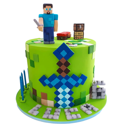 minecraft cake 6 7