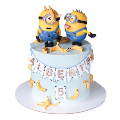Minion cake 3