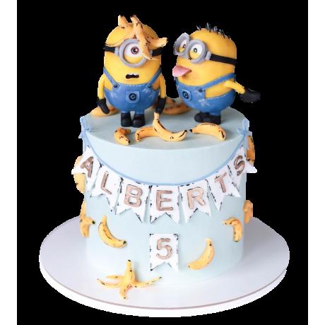 minion cake 3 12