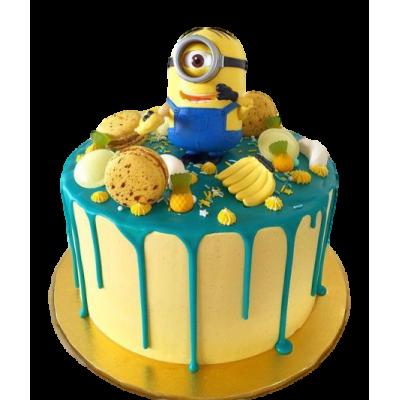 One eyed minion cake