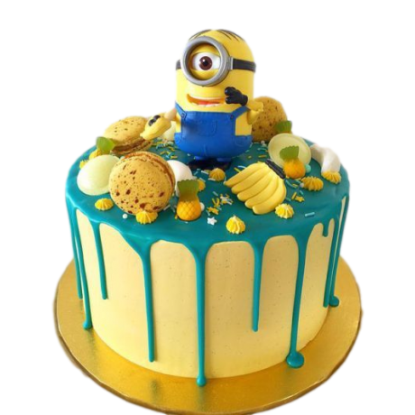 one eyed minion cake 12