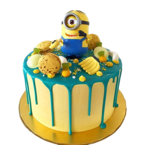 one eyed minion cake 13