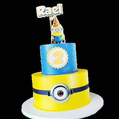 Minions cake 1