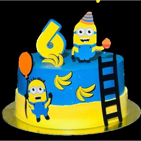minion cake 10 12