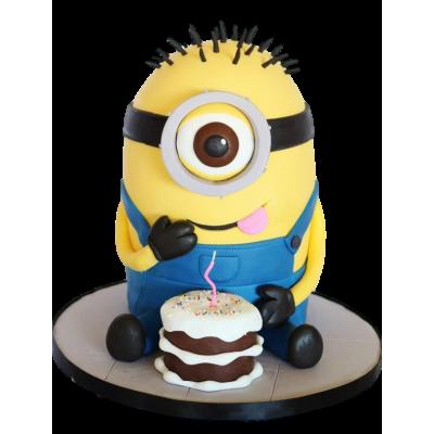 Minion cake 4
