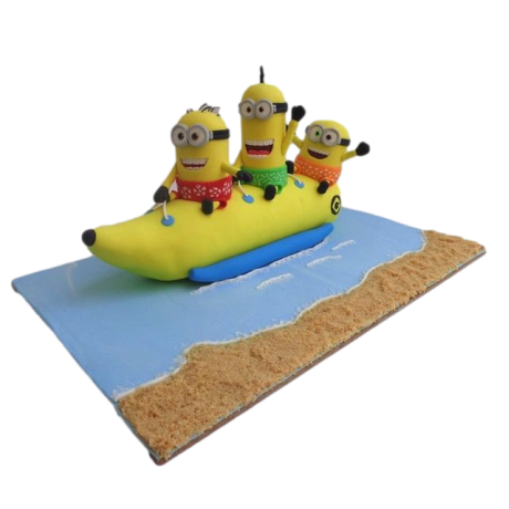 minions party cake 12