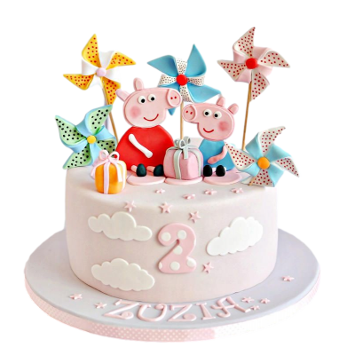 Peppa pig cake 12