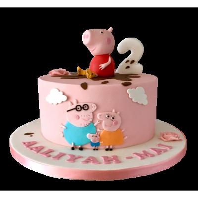 Peppa Pig Cake 15