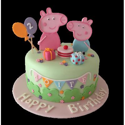 Peppa Pig Cake 7
