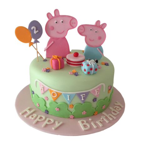 peppa pig cake 7 6