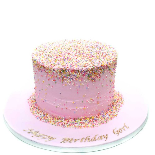 pink cream cake 2 7