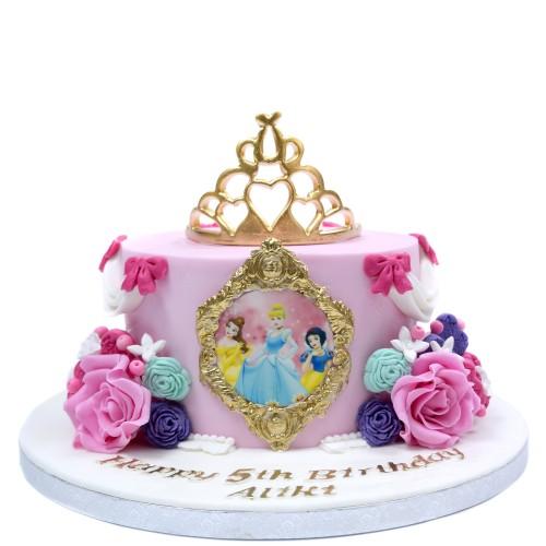 disney princesses cake 10 7