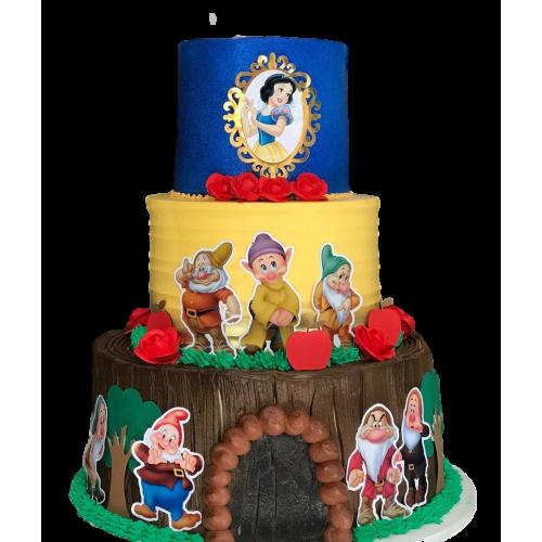 cake snow white 3 7