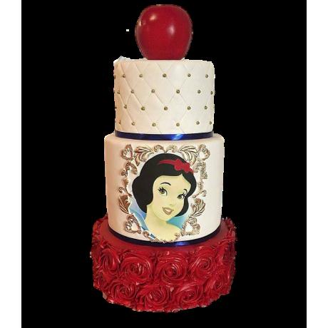 snow white cake 4 6