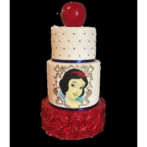 snow white cake 4 7