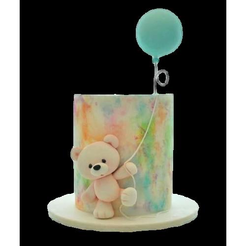 Teddy bear cake 6