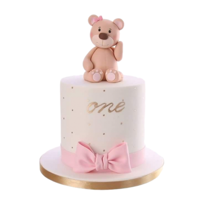 Teddy bear cake 7