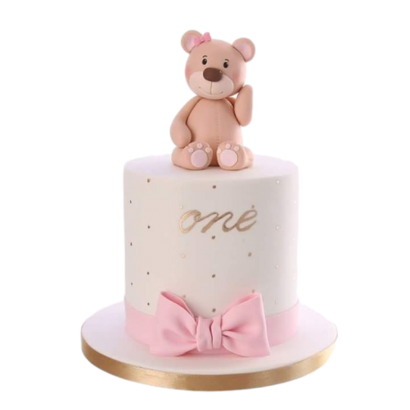 teddy bear cake 7 6