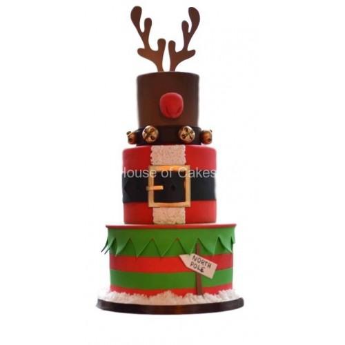 christmas themed cake 7