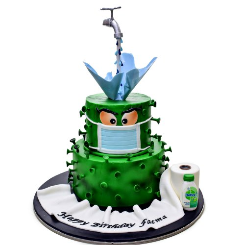 stay safe from coronavirus cake 2 7
