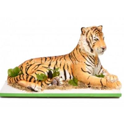 Tiger cake 2
