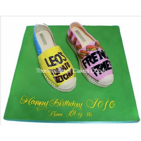 espadrilles shoes cake 12