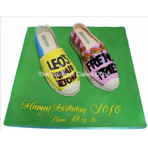 espadrilles shoes cake 13