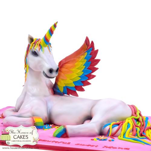 3d unicorn cake 7