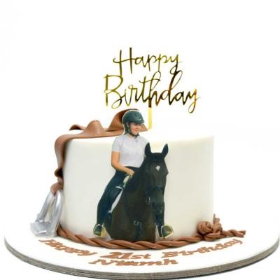 Horse Racing cake 3