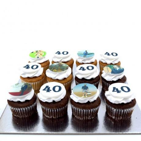 40th birthday cupcakes 6