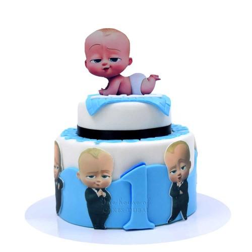 boss baby cake 6 7