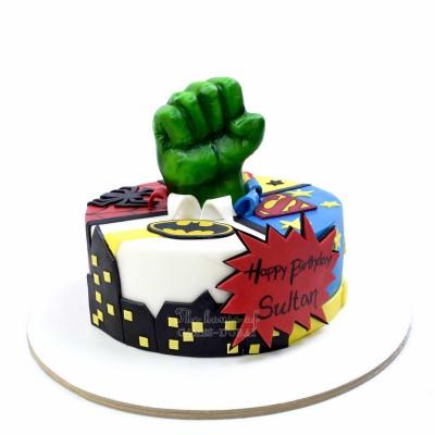 Avengers Superheroes Cake 35