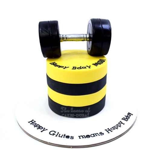 weights lifting cake 5 13