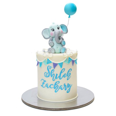 Cute elephant cake 4
