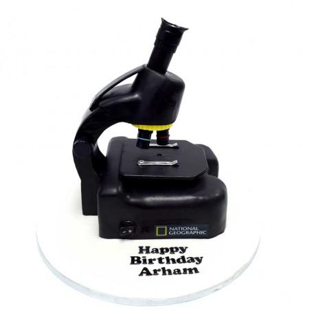 microscope cake 13