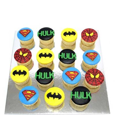 Avengers Superheroes cupcakes 5