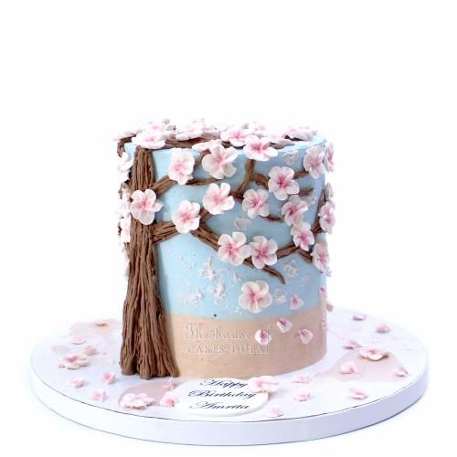 Cherry Blossoms Cake 3