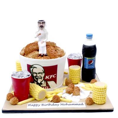 KFC cake 4