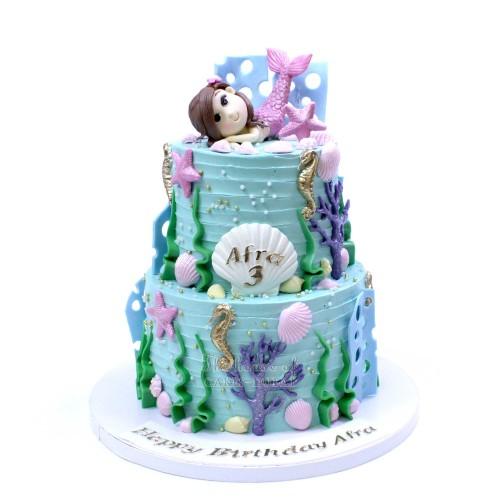 Mermaid cake 39