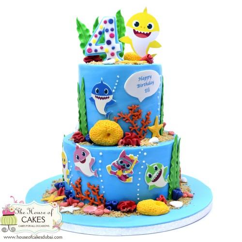 baby shark cake 16 7