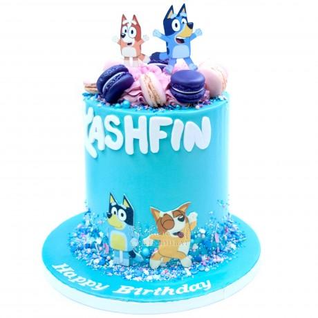 bluey and bingo cake 12