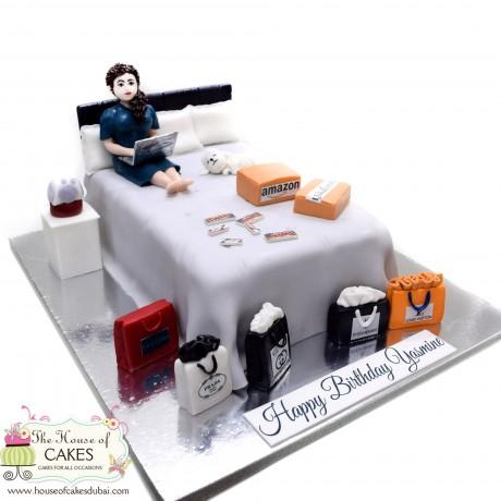 born to shop cake 3 6