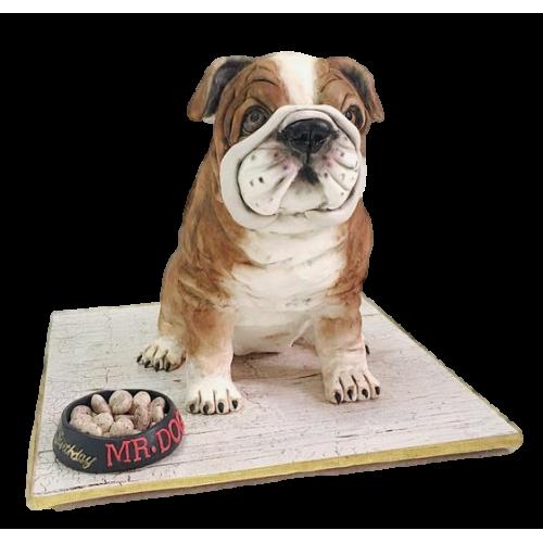 french bulldog cake 7