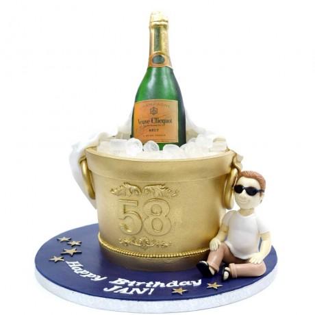 champagne cake 3 6