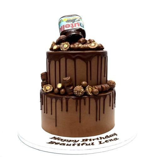 chocolate fantasy cake 4 13