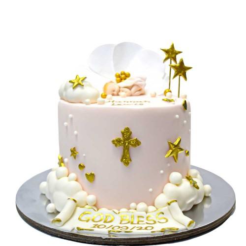 christening cake 1 7