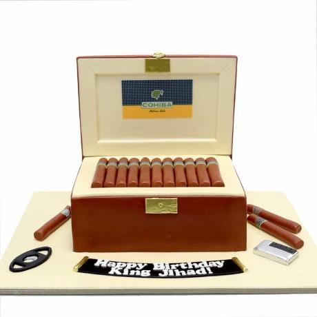 cigar box cake 12