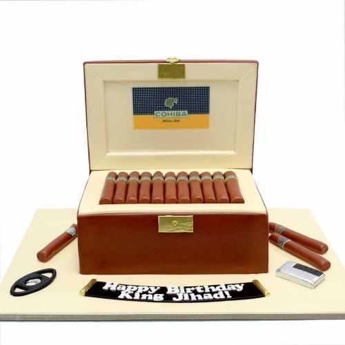 cigar box cake 13