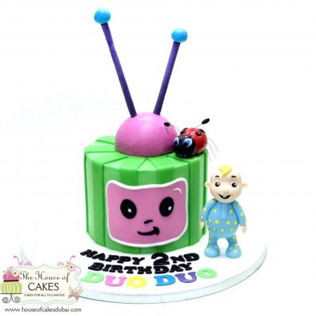 cocomelon cake 1 6