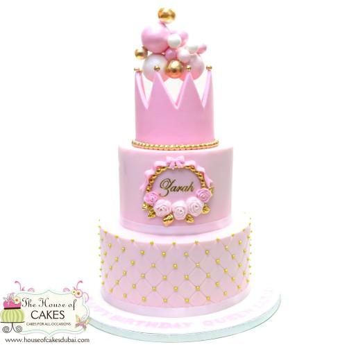 crown cake 5 7